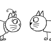 Stick Cat Characters