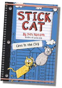 Stick Cat City Book Cover