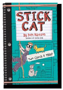 Stick Cat Thief Book Cover