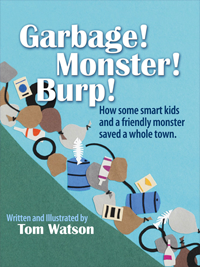 Garbage Monster Burp Book Cover